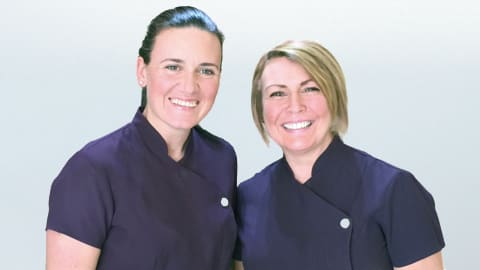 Laura and Andrena at Appletree Dental Care in Glasgow